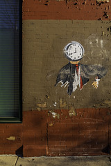 It's All Run Out (aerojad) Tags: eos canon 80d dslr 2019 autumn outdoors chicago art artinpublicplaces mural murals streetphotography streetart