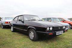 Ford Capri 2.8 Injection Special B693VOU (Andrew 2.8i) Tags: haynes museum sparkford classic car cars classics breakfast meet show euro european german 2800 v6 cologne sports sportscar hatch hatchback liftback coupe mark iii 3 mk mk3 special injection 28 capri ford b693vou