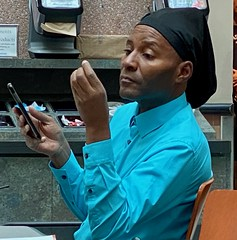 V A Faces (LarryJay99 ) Tags: veteran oldguys men olderguys faces caps tags insignia logos people oblivious unaware unsuspecting interestingface expression head gear headgear hands handsome blackman blackmale blackpeople