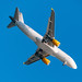 Vueling Airbus A320-200 (EC-MYB) - on approach to Barcelona Airport