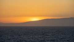 Sunset over the Alboran Sea (Peter.Stokes) Tags: barcelona boat boats buildings coast colour colourphotography cruise2019 harbour holiday landscape landscapes mediteranian photo photography sea ship spain sunset vacation alboransea waves mediterraniansea night nightphoto nightphotography