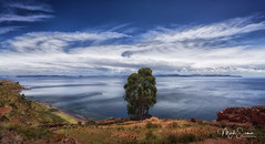 Taquile island (marko.erman) Tags: titicaca lake peru taquile island southamerica latinamerica highaltitude water sky clouds panorama landscape seascape cloudscape wideangle uwa sony sunny sun beautiful nature travel outside outdoor