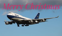 Merry Christmas (R.K.C. Photography) Tags: merrychristmas boeing b747 747436 britishairways ba baw boac retro ba100 london londonheathrowairport lhr egll canoneos750d aircraft gbygc