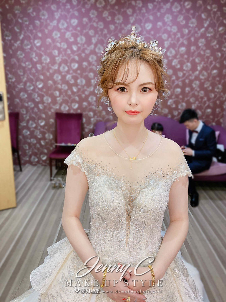 【新秘蓁妮】bride 宛萱 訂婚造型 / 仙女公主風