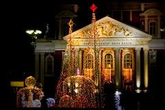 Christmas In The City (JULIANA LEFTEROVA) Tags: crazytuesday festivelights festiveseason christmastime christmasdecoration christmaslights urbanexploring urbanlandscape streetphotography
