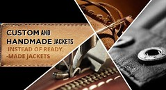 A Custom Order Offers countless Advantages (Sophia gump) Tags: custom made jackets customize g leather for women men handmade mens