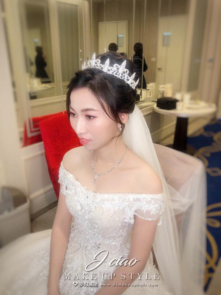 【新秘婕喬】bride敏蓉 結婚造型 / 優雅甜美風
