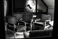 Time to speak (A.K. 90) Tags: blackandwhite schwarzweis inside lostplace abandoned verlassen old oldhouse urbex urbandecay sonyalpha6300 sigma30mm14 alt seat memories oncewashome früher damals