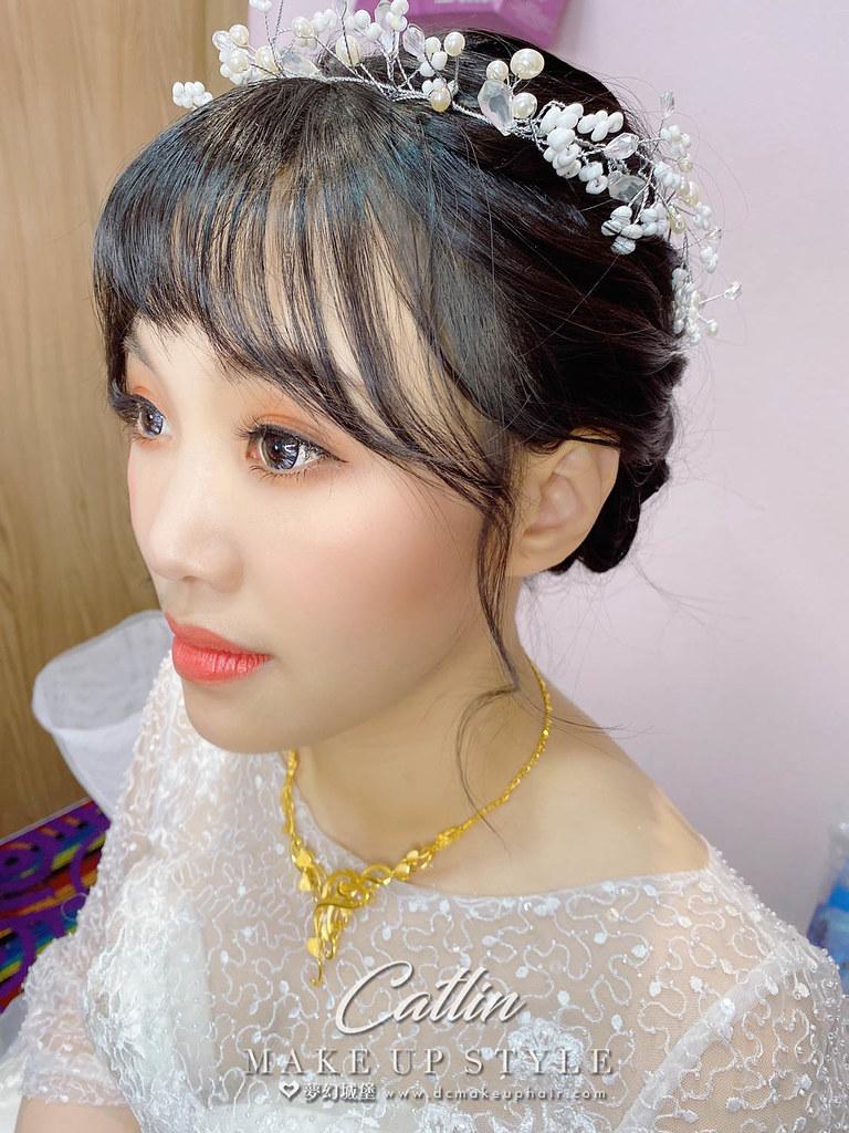 【新秘Catlin 】bride 儷馨 結婚造型 / 韓系甜美