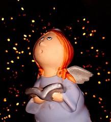 Zalig Kerstfeest - Merry Christmas (Breboen) Tags: angel christmas light song puppet status image noel kerst xmas holy wings