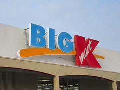 Kmart Sign (TheTransitCamera) Tags: kmart bigk closed discount abandoned bigbox chain searsholdings sign retail retailer store shopping shop consumer mn minnesota twincities saintpaul