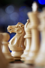 One Christmas Night (Sean Hartwell Photography) Tags: chess pieces game knight christmas bokeh