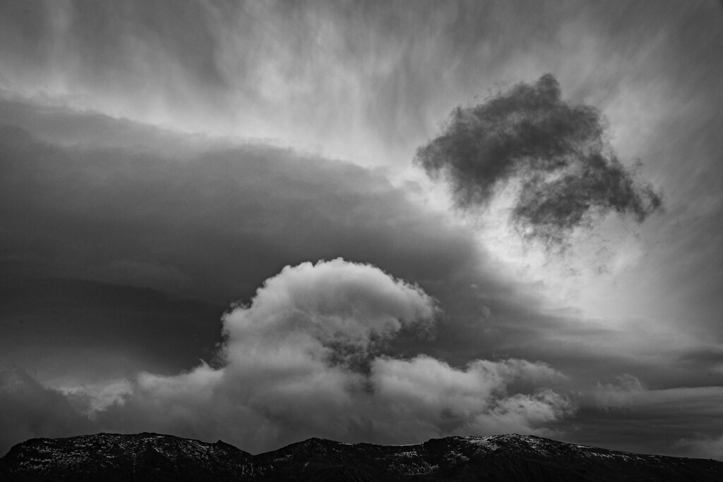 Clouds Over The Glyder Ridge