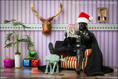 Merry Christmas one and all (Pikebubbles) Tags: vader darthvader starwars starwarsphotography davidgilliver davidgilliverphotography toys toy toyart toyphotography creative creativephotography dollshouse dollhouse rudolph merrychristmas