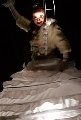 And an angel came ... (L_u_c) Tags: angel ange engel woman vrouw femme dancer dancing danser dansen nacht night nightlights nightscene nikond7500 nikon illusion beautiful beauté beauty angélique angelic smile sourire expression light grâce grace color dress robe