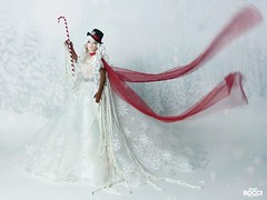 Snowoman Doll Ooak (davidbocci.es/refugiorosa) Tags: christmas navidad snow snowman barbie mattel fashion doll muñeca refugio rosa david bocci ooak