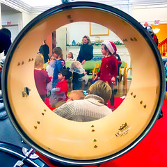 As the drummer sees it... (Timothy Valentine) Tags: squaredcircle 1219 large people party christmas 2019 drum milton massachusetts unitedstatesofamerica
