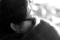 the scarf of Anto' (Antonio Piccialli) Tags: 2019 dicembre dettaglio december winter wind wall wb bn blackwhite bianconero blackandwhite bw canoneos60d campania canon castellabate cilento santamariadicastellabate streetphoto spiaggia vento tempesta temporale