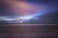 Talacre sunrise (Lukasz Lukomski) Tags: landscape lighthouse wales water coast beach talacre pointofayr unitedkingdom uk greatbritain lukaszlukomski nikond7200 sigma1020 longexposure clouds