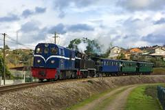 CP 9004 (Nelso M. Silva) Tags: adicionar tags steam train comboio vapor henschel sohn dampflok historico linha do vouga turismo portugal via estereita metrica e200 mallet euskadi alsthom diesel narrow gauge meter