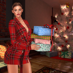 Merry Christmas (sirengraph.sl) Tags: secondlfe secondlifeavatar secondlifephoto slphoto secondlifefashion slhairstyle
