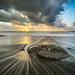 Italian sunset - Paola, Italy - Seascape photography