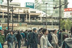 Japan - Tokyo (SergioQ79 - Osanpo Photographer -) Tags: japan tokyo akihabara station crowd people nikon d7200 2019 street road happyplanet asiafavorites