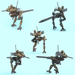 Alioramus (kotkoozya) Tags: moc mecha lego military scifi drone dane erland mechanekton dinosaur