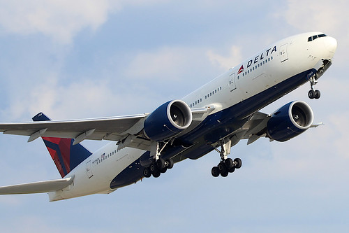 N704DK - Delta Boeing 777-200LR by AndrewC75, on Flickr