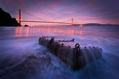Winter Is Here (Andrew Louie Photography) Tags: winter solstice saturday 21st 2019 golden gate bridge colors morning dead man chest merry christmas san francisco cold wet kirby cove holidays bay area marin headlands sunrise andrew louie photography landscape california pacific ocean december game thrones burn hot pink waves beach solo long exposure play fun happy coffee jazz blue hour dynamic passion lights xmas joy