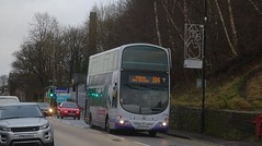 Linthwaite (Andrew Stopford) Tags: mx58eap volvo b9tl wright eclipse first linthwaite