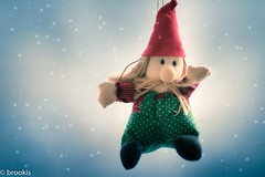 Almost... (brookis-photography) Tags: christmasdecoration ornament elf wichtelmann