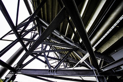 Hamburg0246VolksparkstadionHSV (schulzharri) Tags: hamburg deutschland germany europa europe stadion arena architektur architecture steel stahl