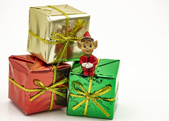 358/365 Elfie (Helen Orozco) Tags: day358365 365the2019edition elf elfie presents packages christmas