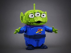 nEO_IMG_DOGOD_Aliens_01 (DOGOD Brick Design) Tags: disney pixar toy story aliens pizza planet cartoon lego moc afol taiwan taipei dogod ianhou