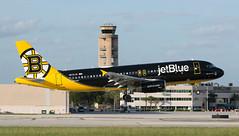 A320 | N632JB | FLL | 20191112 (Wally.H) Tags: airbus a320 n632jb jetblueairways bostonbruins fll kfll fortlauderdale hollywood airport