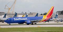 B737 | N8309C | FLL | 20191113 (Wally.H) Tags: boeing 737 boeing737 b737 n8309c southwestairlines fll kfll fortlauderdale hollywood airport