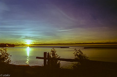 Kodak Gold Sunrise over Lake Ontario (Uta_kv) Tags: f2 filmphotography c41 homedeveloped nokia kodakgold kodak 35mm film nokiaf2