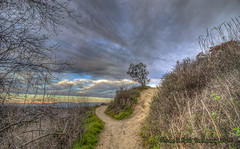 Two Roads Diverged (Michael F. Nyiri) Tags: storm stormclouds kennethhahnstaterecreationarea baldwinhills california southerncalifornia sky clouds