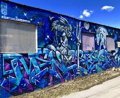 Love Across America by Menace Resa (wiredforlego) Tags: graffiti mural streetart urbanart aerosolart publicart chicago illinois ord menaceresa