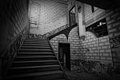SECOND FLOOR (R.Toro) Tags: blackwhite noiretblank blancoynegro monocromo monochrome abandoned canon tokina1224 dxo architecture bcn dark spirit