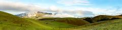 Clouded Mission Peak (Bryan Nabong) Tags: california clouds fremont green hills horizontalpano landcape missionpeak northamerica northerncalifornia panorama rainbow rollinghills sanjose sierrard sky unitedstates