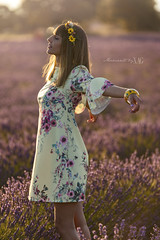 When the soul takes a breath (Moments by Xag) Tags: soul alma model modelo campo lavender lavanda field sesion sense dress xag xagstyle momentsbyxag