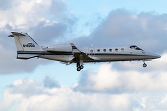 N160GG Learjet 60-113 KFXE (CanAmJetz) Tags: n1260gg learjet 60113 kfxe fxe bizjet aircraft airplane landing nikon
