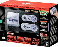 SNES Classic Mini Edition – Super Nintendo Entertainment System – Brand New! (alaaxprss) Tags: