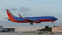 B737 | N8634A | FLL | 20191112 (Wally.H) Tags: boeing 737 boeing737 b737 n8634a southwestairlines fll kfll fortlauderdale hollywood airport