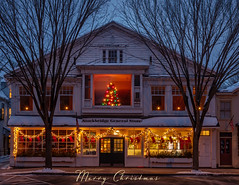 Season's Greetings (John Clay173) Tags: lights newengland stockbridge winter ma berkshires massachusetts holiday christmas jclay snow