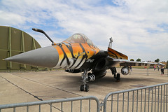 135 (30-GN) Dassault Rafale C French Air Force Dark Tigers Special Colours Nose On Orange 25th May 2019 (michael_hibbins) Tags: 135 30gn dassault rafale c french air force dark tigers special colours tail closeup orange 25th may 2019