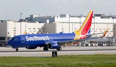 B737 | N8522P | FLL | 20191113 (Wally.H) Tags: boeing 737 boeing737 b737 n8522p southwestairlines fll kfll fortlauderdale hollywood airport