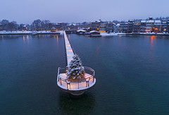 Merry Christmas (Matt Champlin) Tags: cheers home skaneateles christmas merrychristmas winter wonderland beautiful nature outdoors drone aerial 2019